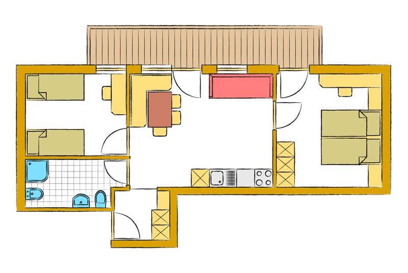Disposizione camera da letto feng shui camera da letto - Feng shui letto orientamento ...